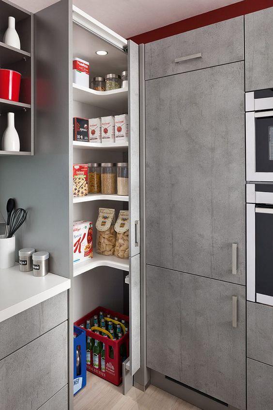 Die besten 25+ Eckküche Ideen auf Pinterest Küche diy, Eckregal - küche mit folie bekleben