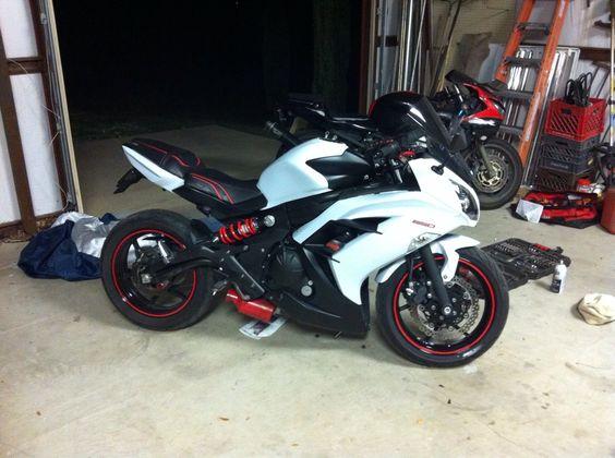 Oem  Kawasaki Zxr Fairings White