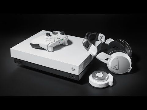 New White Xbox One X New Xbox Elite Controller New Headset Revealed