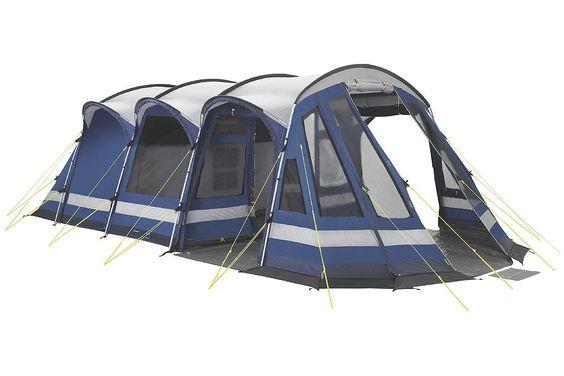 Beim Bahia 5 aus der Superior Kollektion handelt es sich um ein kompaktes Modell mit zwei Schlafkabinen zur Unterbringung von maximal 5 Personen. Es überzeugt mit derselben Ausstattung wie das größere Zelt.  Outtex 6000 (Polyester): Nutzt die neusten Errungenschaften der Technologie, und...  • Lieferumfang: Türmatte, Reparatur-Set und Trolleytasche • Zusatzinformation: - Outtex 6000 - Wasse...