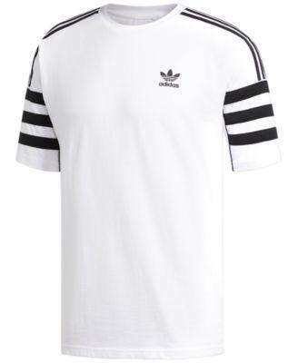 adidas Men's Originals Relaxed T-Shirt - White L   Adidas shirt ...