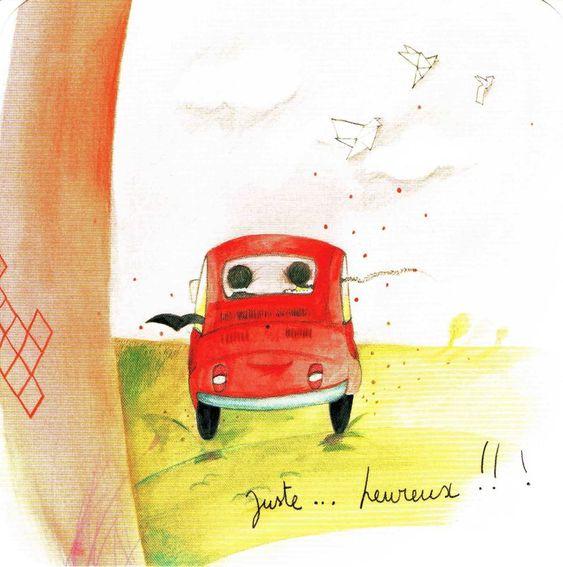 Carte Anne-Sophie Rutsaert - Juste heureux !!!