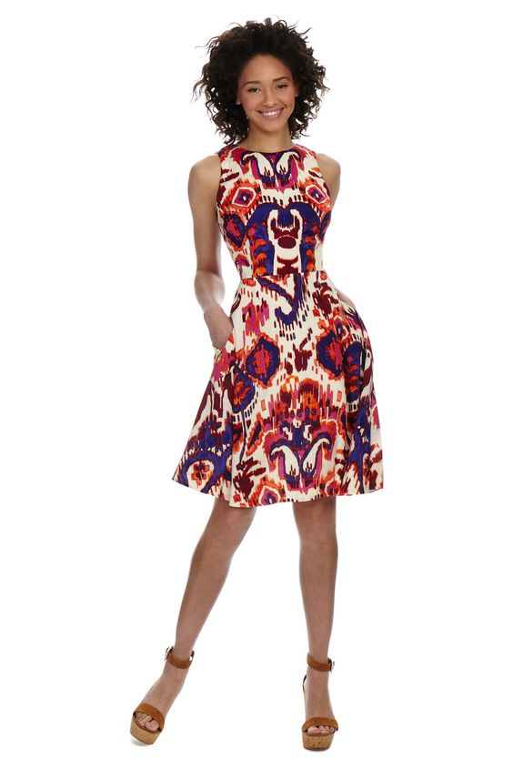 Everyday summer dress from Donna Morgan summer 2015!  Donna ...