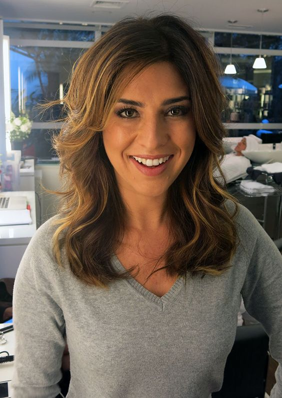 FERNANDA PAES LEME • MECHAS PARA MORENAS: Hair Hair, Mermaid Hair, Hair Sounds, Hair Makeup, Medium Hair, Hair Style, Hair Color, Inspiring Hair