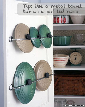 always looking for better ways to organize a kitchen