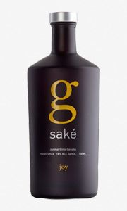 Sake available in Vancouver - 'Little g' (g for ginjo). Probably the best American made sake out there, from the Sake One kura in Oregon (same one that makes Momokawa), it uses California rice, Oregon water and Japanese yeast and Koji.