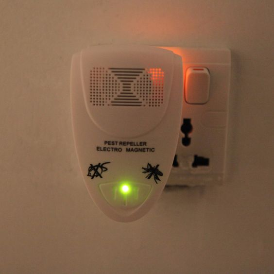 Ultrasonic Mosquito Insect Pest Electro Repeller