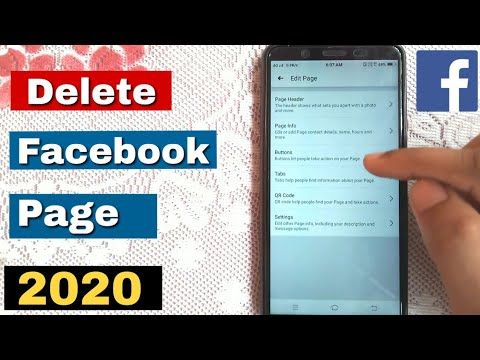 Pin On How To Delete Facebook Page Permanently