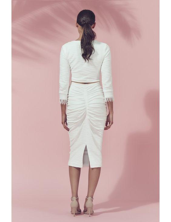 Kali Skirt — MATEA: Woman's designer fashion online   Australian designer woman's dresses   Timeless designer garments