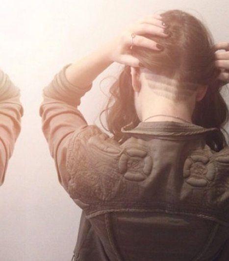 les femmes lesbiennes butch décote de photos dépouille