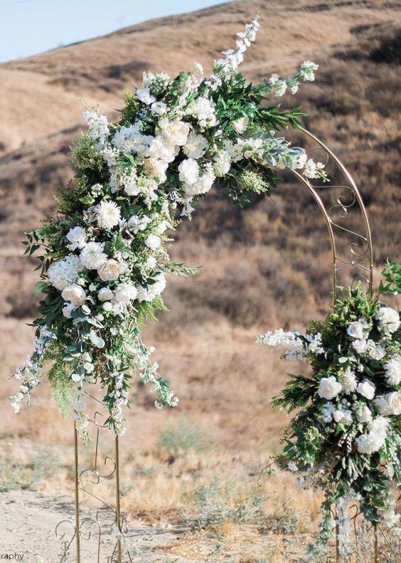Baby's Breath Wedding Wreath