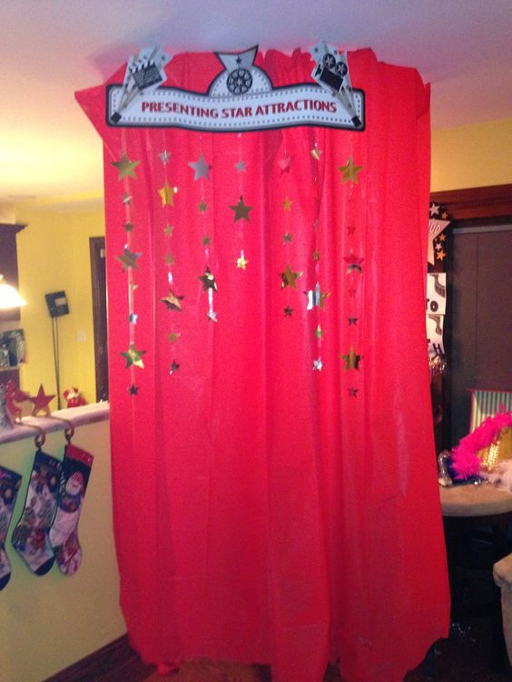 Home made photo booth