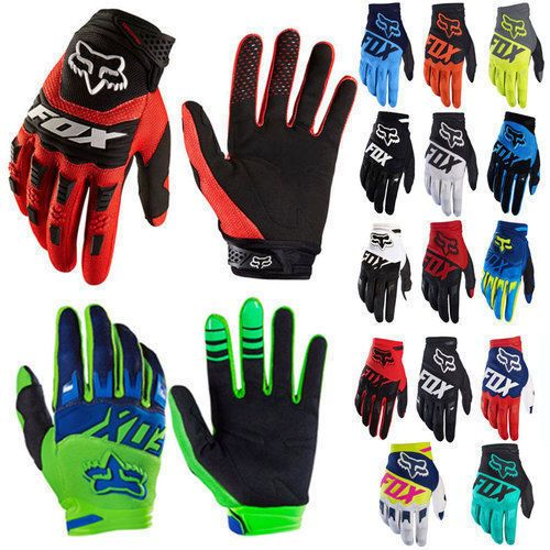 Pop Men Mtb Cycling Bicycle Bike Motorcycle Glove Offroad Full Finger Fox Gloves Motorcross Bike Bike Gear Dirt Bike Gear