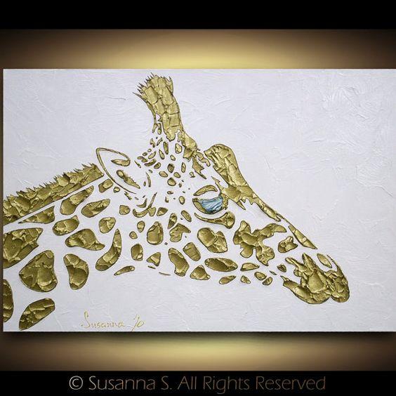 He encontrado este interesante anuncio de Etsy en https://www.etsy.com/es/listing/80137595/original-abstract-giraffe-painting