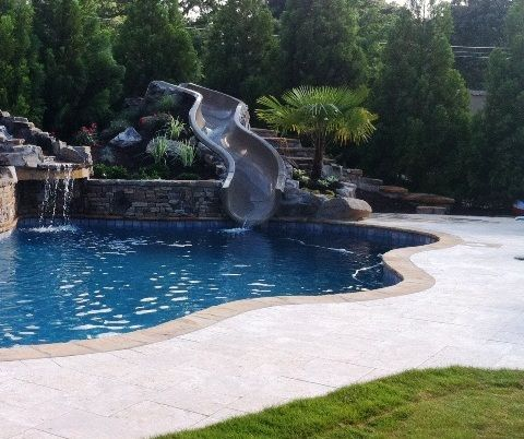 residential water slides - Google Search | Pools & Landscape ...