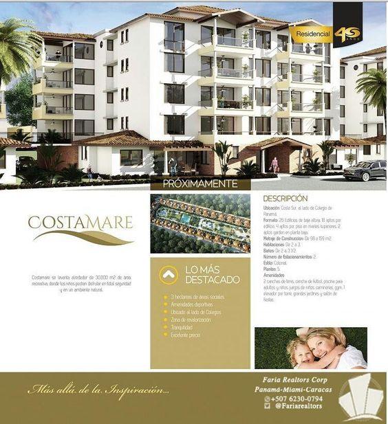 #Costamare increíbles apartamentos ubicados en Costa del sur #invertirenpanama