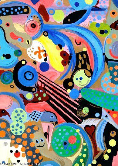 Artwork >> Maximin Lida >> THE FARCE - Contemporary