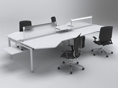 zDesk Workstations z2 Bench Compel Office Furniture – Wb Mason Chairs