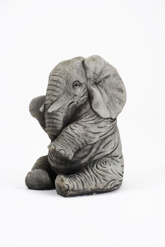 Oswaldtwistle Mills | Oakley Stone Animals - Large Elephant