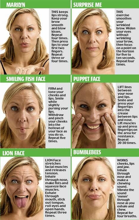 facial yoga-better than any anti-aging cream? Keep your body AND your face toned. Hmmm....This sounds interesting.