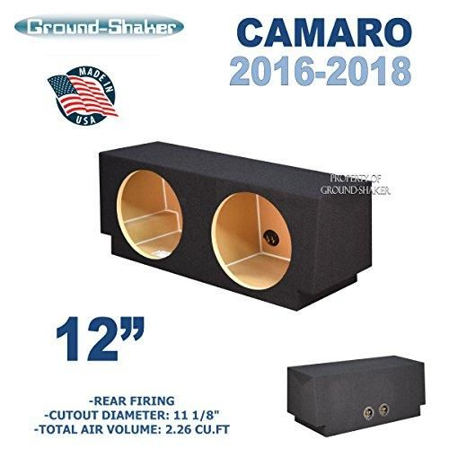 Chevy Camaro 2016 2018 12 Dual Sealed Sub Box Chevy Camaro 2016 Chevy Camaro Camaro