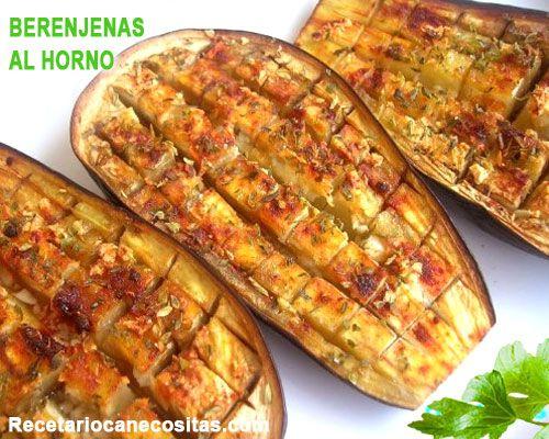 Berenjenas Al Horno Con Oregano Comida Vegetariana Recetas Recetas Con Berenjenas Comida Con Pocas Calorias