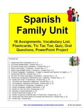 family units vocabulary worksheets and vocabulary on. Black Bedroom Furniture Sets. Home Design Ideas