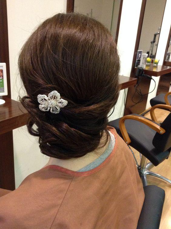 Recogido bajo lateral para boda peluquer a gregorio porras - Ideas para porras ...