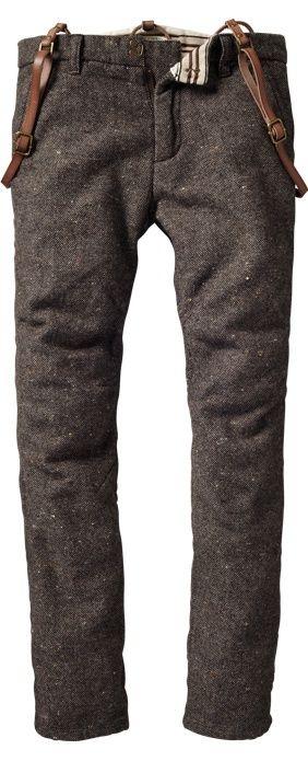 en invierno llevo el pantalon corto: