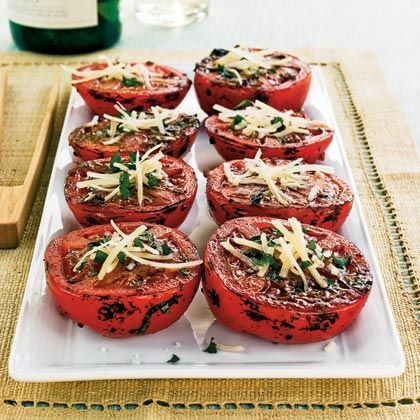 Herbed-Grilled Tomatoes | Recipe | Tomato appetizers, Chicken recipes ...