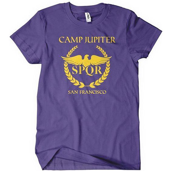 Camp Jupiter T Shirt El01 Acampamento Jupiter Percy Jackson E