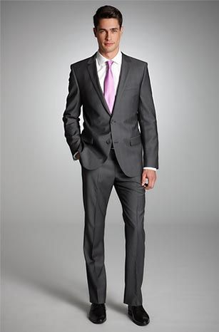 Slim Fit 2-Button 'Astro/Hill7' Suit by HUGO Model Astro/Hill7