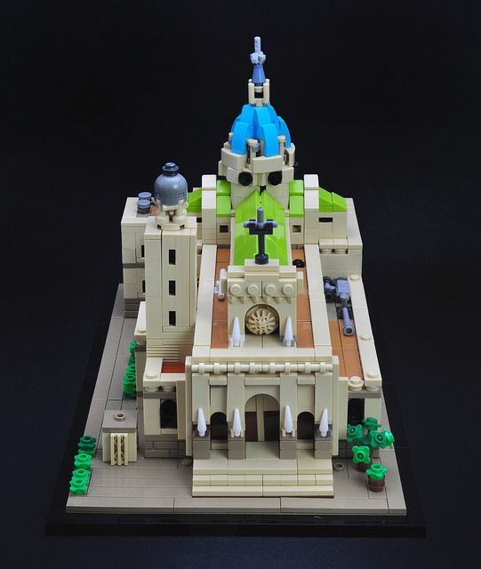 Https Archbrick Com 2018 03 19 Manila Cathedral Cool Lego Creations Lego Architecture Cool Lego