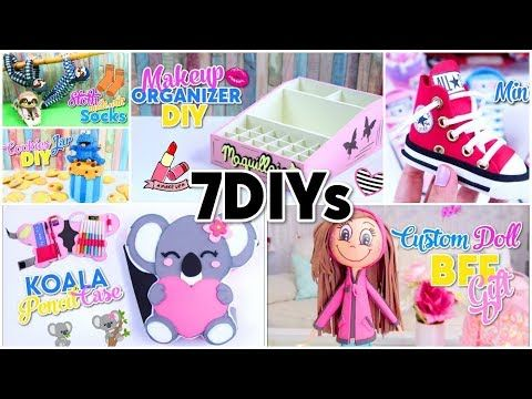 5 Minute Crafts To Do When You Are Bored Perfect Gift Ideas For Best Friends Youtube Homemade Gifts Diy Bff Gifts Diy School Diy