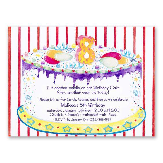 words for birthday invitation