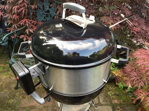 Barbecue Stacker Expands The Capabilities Of Your Barbecue By Adding A Stacking Ring Which Converts Your Kettle Bbq I Backyard Barbecue Water Smoker Kettle Bbq