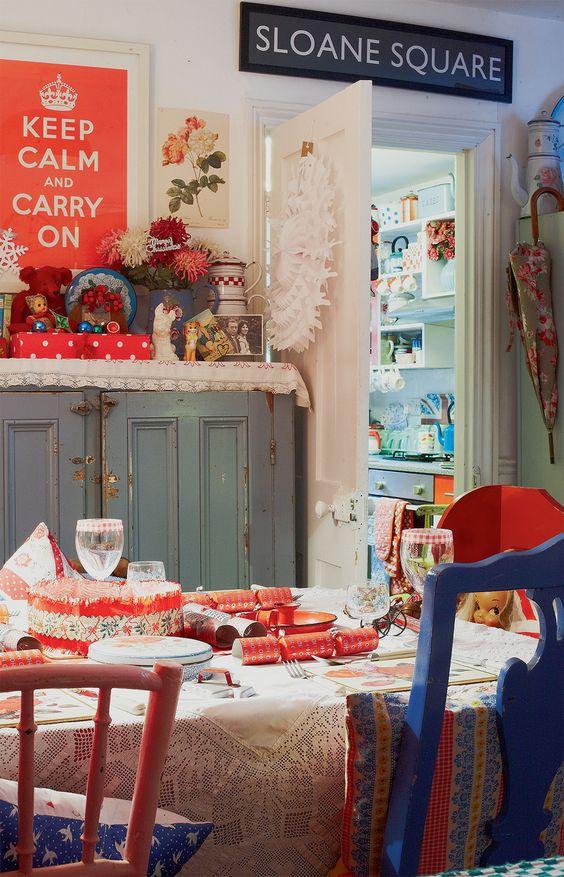 Happy's Christmas: Die Weihnachtsdekoration der Britin Happy Harris    (Text: Rebekka Kiesewetter; Fotos: Joanna Henderson)