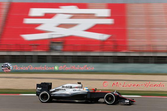 Alonso: «Una tarde como la de hoy es muy útil para nosotros porque nos permite comprender mejor al coche»