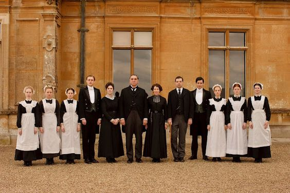 Cannot get enough of Downton Abbey!