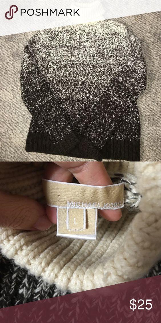 Michael Kors sweater Michael Kors turtle neck sweater KORS Michael Kors Sweaters Cowl & Turtlenecks