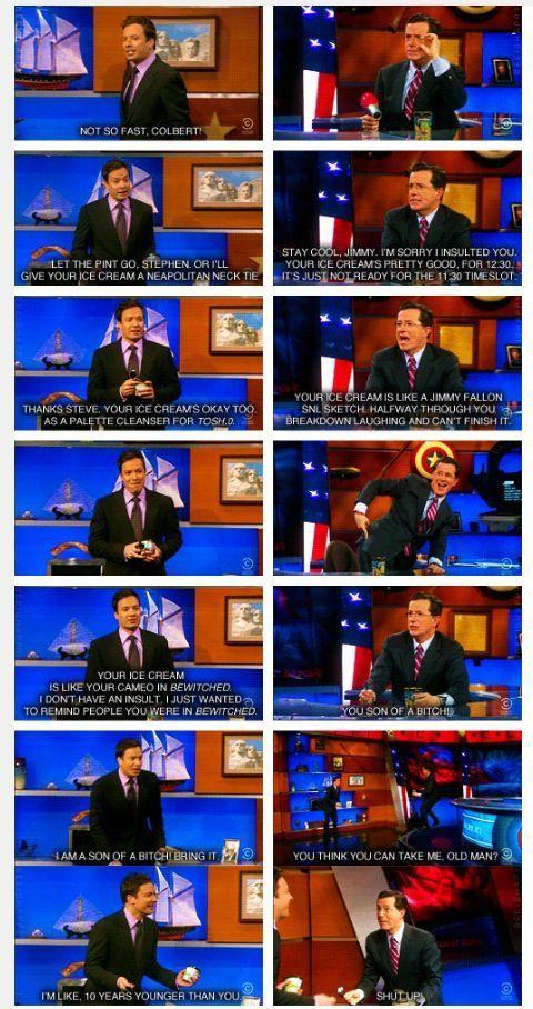 Funniest Memes - [Jimmy Fallon vs Stephen Colbert]