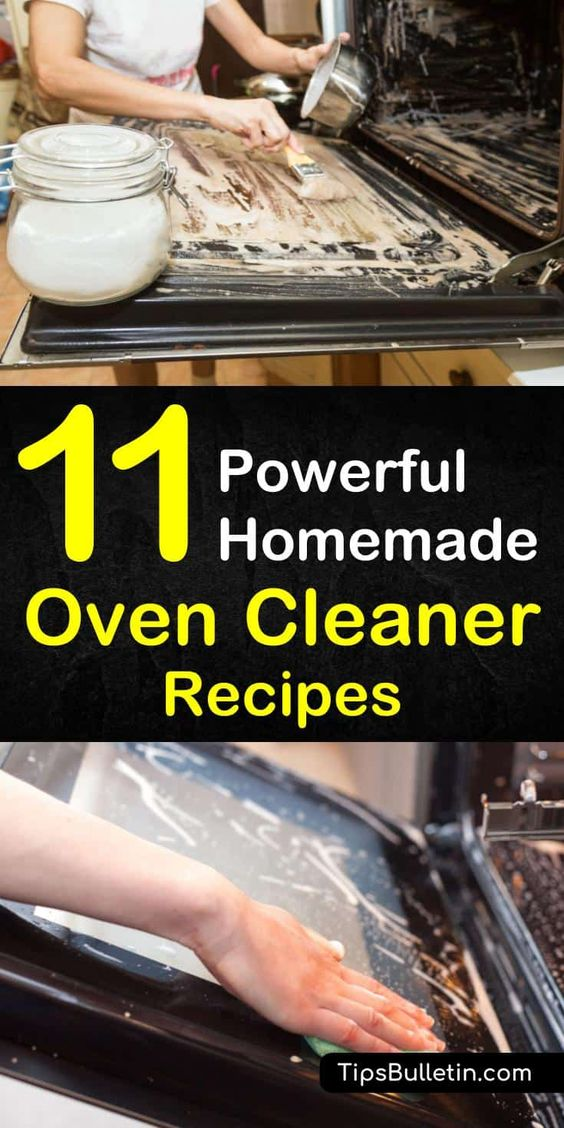 Explore 11 oven cleaning hacks that will have your oven looking good as new using natural ingredients like baking soda, white vinegar, and essential oils. #naturalcleaningtips #homemadeovencleaner #cleanerrecipe