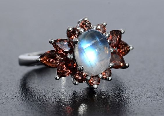 Moonstone jewelry from liquidation channel ring bling for Liquidation tv