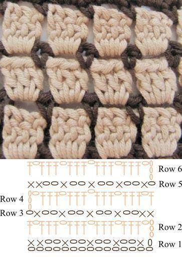 crochet card box instructions