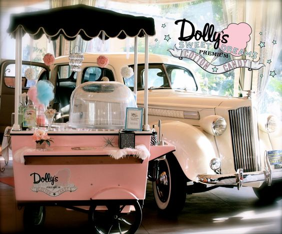 Dolly's Sweet Dreams Cotton Candy is the most luxurious cotton candy catering company serving the OC/LA area.   www.dollyscottoncandy.com