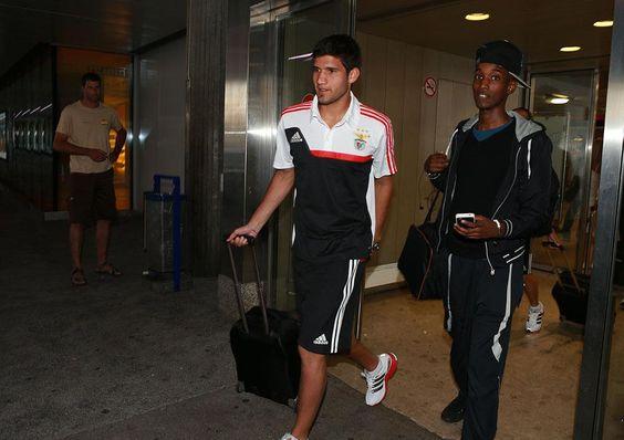 2013-07-12 Chegada da equipa do SL Benfica a Geneva