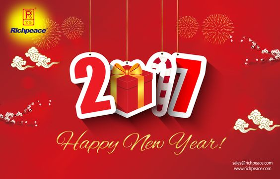 Happy New Year to you all. Thanks for supporting Richpeace all the time. Best Wishes to all of you.