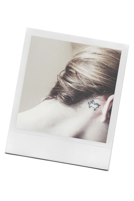 21 Precious and Tiny Tattoos  - ELLE.com