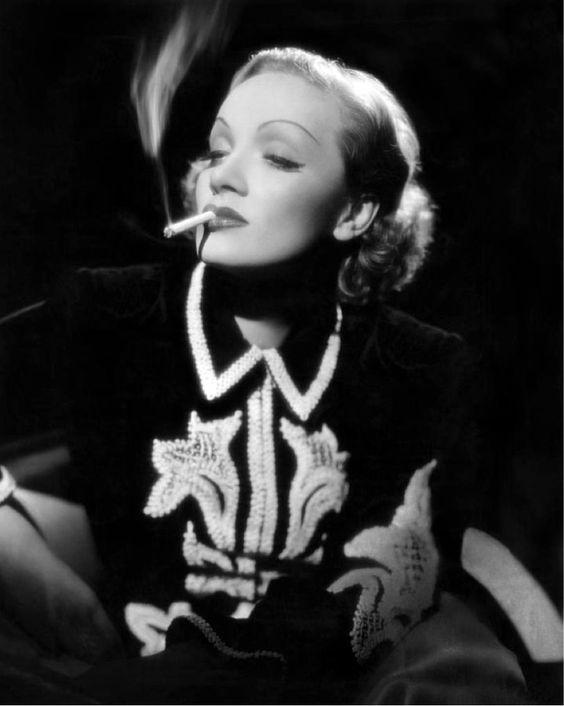Marlene Dietrich photographed by George Hoyningen-Huene, 1936. Dress: Schiaparelli.