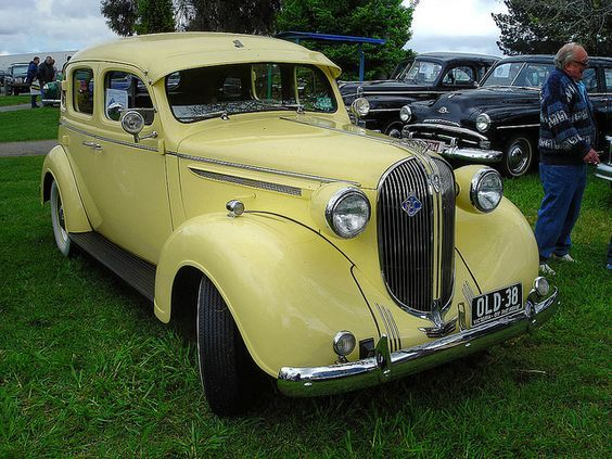 1938 Plymouth 4 Door Sedan 3 6l Flathead 6 Cylinder Engine Classic Cars Cool Cars Plymouth Cars